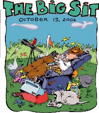 The BigSit 2002 cartoon